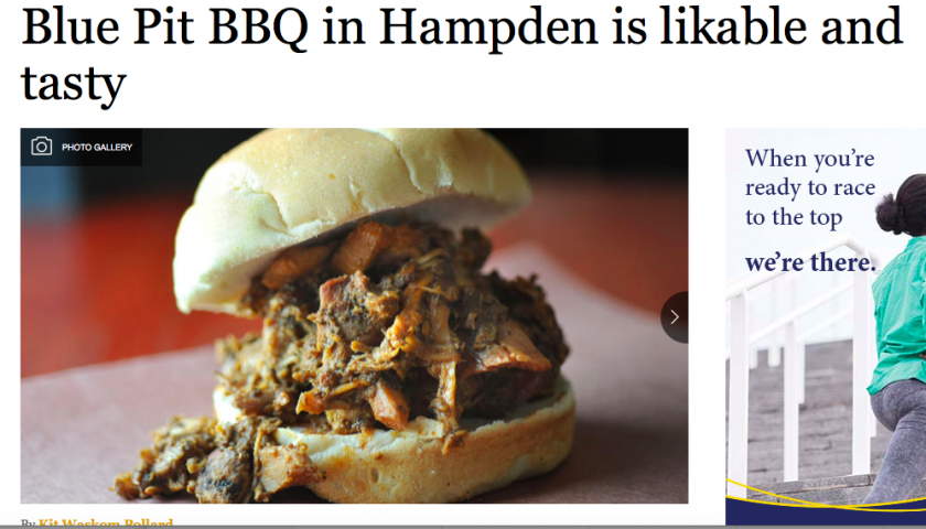 Blue Pit BBQ is tasty and likable